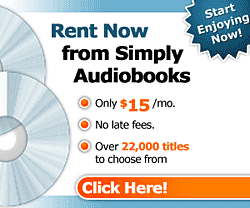 Simply Audiobooks - Unlimited Audio Book Rentals from $15 Per Month!
